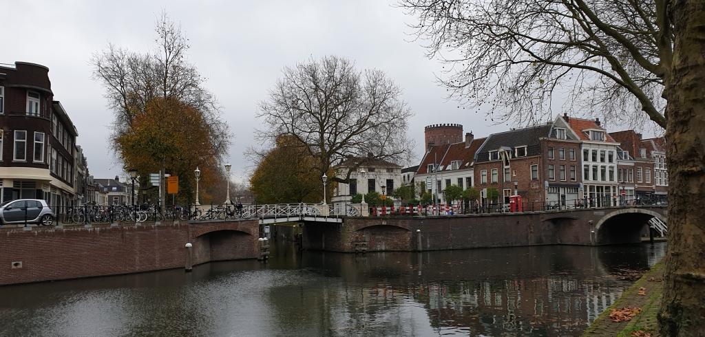 Binnenstad van Utrecht, sluis